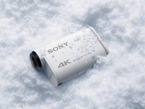 Sony FDR-X1000 4K Actioncam Live-View Remote Kit (4K Modus 100/60Mbps, Full HD Modus 50Mbps, ZEISS Tessar Objektiv mit 170 Ultra-Weitwinkel, Vollständige Sensorauslesungohne Pixel Binning) weiß - 26
