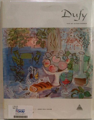 Dufy (Library of Great Painters) por Alfred Werner