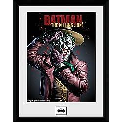 DC Comics GB Eye LTD, Batman Comic, Kiling Joke Portrait, Photographie encadrée 30 x 40 cm
