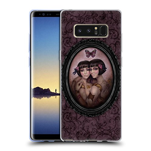 Offizielle Brigid Ashwood Replik Fantasy Soft Gel Hülle für Samsung Galaxy Note8 / Note 8 (Galaxy Replik)