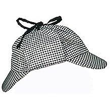 Carnival Toys - Sombrero detective de tejido, color gris (5851)