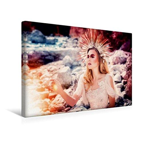 Preisvergleich Produktbild Premium Textil-Leinwand 45 cm x 30 cm quer, König des Sommers | Wandbild, Bild auf Keilrahmen, Fertigbild auf echter Leinwand, Leinwanddruck: Ein modernes Märchen (CALVENDO Menschen)