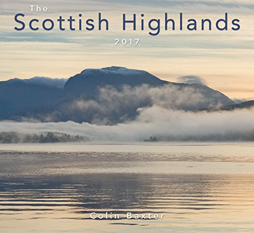The Scottish Highlands 2017 Calendar por Colin Baxter