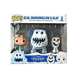 Funko Pop Pack Elsa, Olaf y Malvavisco (Frozen) Funko Pop Frozen