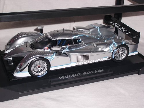 Peugeot 908 Hdi Fap Le Mans 24h Lemans 24 H Hy Silber 1/18 Norev Modellauto Modell Auto