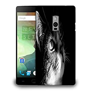 Snoogg Newest Animals Black White Printed Protective Phone Back Case Cover Fpr OnePlus One / 1+1
