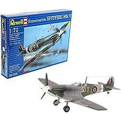 Revell- Spitfire MK.V, Kit de Modelo, Escala 1:72 (4164) (04164),, 12,7 cm de Largo (