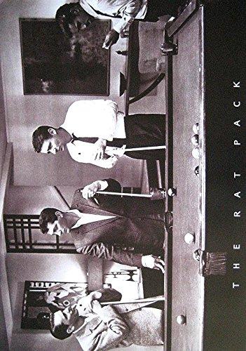 Sinatra Frank Poster (RAT PACK POSTER POOL BILLARD FRANK SINATRA DEAN MARTIN SAMMY DAVIS JR.)