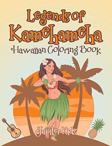 Legends of Kamehameha Hawaiian Coloring Book -
