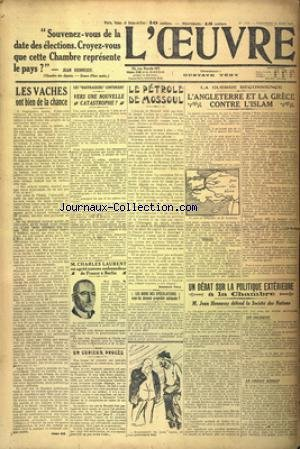 OEUVRE PARIS SEINE ET SEINE ET OISE (L') [No 1729] du 25/06/1920