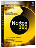 NORTON 360 PREMIER EDITION v4.0 3 PCs