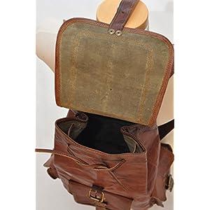 """51VMB5gljYL. SS300  - VH 18 """"nuevo bolso del recorrido de la mochila de la parte posterior del cuero genuino para los Mens y las mujeres"""