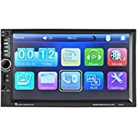 Bluetooth Car Audio Stereo - Kingwo Bluetooth Stereo Audio In-Dash Aux Ricevitore ingresso SD / USB MP5 Player