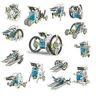 itsImagical - 66886 - Imaginarium - Kit de construction de robots solaires