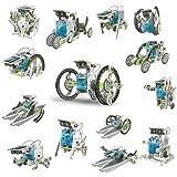 itsImagical 14X1 Eco-Robot - Kit para construir robots solares, unisex