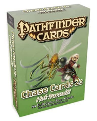 Pathfinder Campaign Cards: Chase Cards 2 - Hot Pursuit! by Jason Bulmahn (2013-12-03)