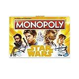 Star Wars Hase1702102Han Solo Monopoly, mélange de Couleurs, Taille Unique