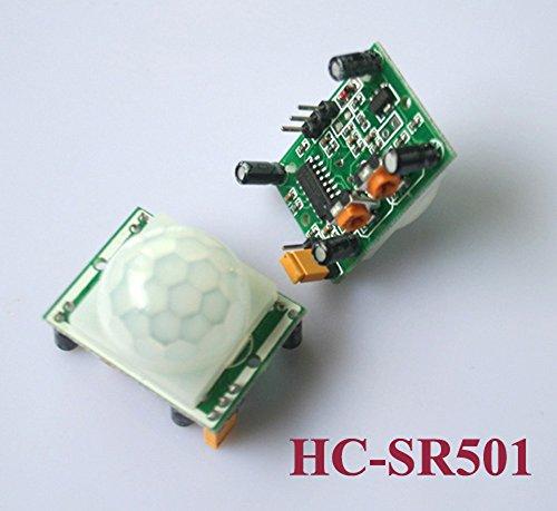 4 Stk HC-SR501 Pyroelectric Infrarot IR PIR Bewegungssensor Detektor Modul Low Voltage Detection