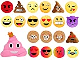 Emoji Kissen Emoticon Emojicon Lach Smiley Kissen Dekokissen Stuhlkissen Sitzkissen gelb rund