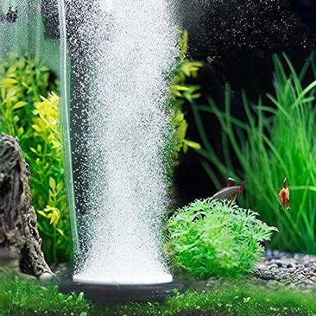 Hygger Auströmer Aquarium Luftstein, Sauerstoff Stein, Sehr Leiser Sprudler Aquarium, Teich Luftausströmer Geeignet für Teiche, Aquarien und Fisch Tank, Ideal für Aquarienluftpumpe