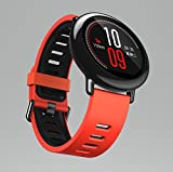 Xiaomi Huami AMAZFIT Smartwatch Red Fitness Heart Rate Bluetooth 4.0 for iPhone iOS and Android Phone