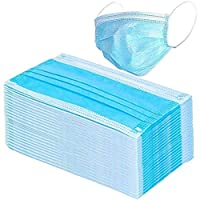 Artwarm Disposable Masks, Dust-proof Breathable Mask 1 Bag 3 Layers Disposable Masks Salon Anti-Dust Face Mas
