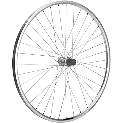 M:Part Shimano Deore / Mavic A319 silver / DT Swiss P/G 36 hole rear wheel 26 inches Silver