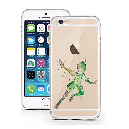 iPhone 7 Hülle von licaso® für das Apple iPhone 7 und iPhone 8 aus TPU Silikon Bär Luftballon Aquarell Comic Muster ultra-dünn schützt Dein iPhone 7 & ist stylisch Schutzhülle Bumper in einem (iPhone  Peter Aquarell