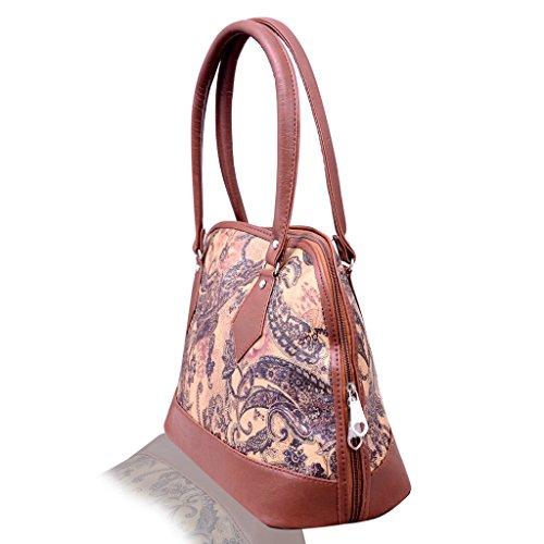 Scarlett Premium Women's Handbag (Dark Brown)