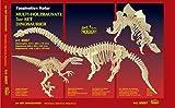 Weico 80857 - Holzbausatz 3er Set Dinosaurier