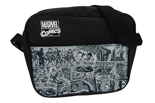 marvel-messenger-bag-34-cm-black
