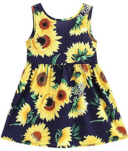EULLA Mädchen Kleid Kids Blumen à
