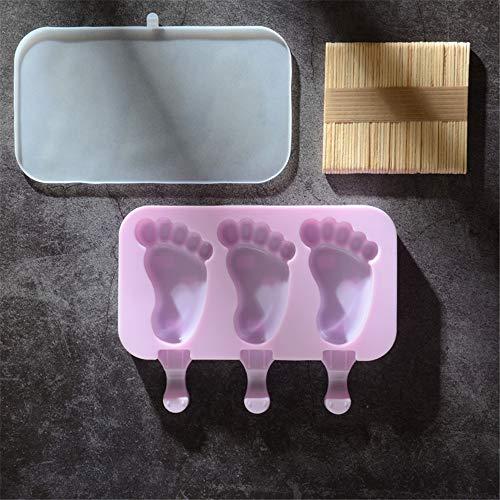 Zyhoue Eiswürfelformen&-Schalen eisstange Schimmel Set EIS Werkzeug Nach Hause Hausgemachte EIS EIS Cremen (Hausgemachte Werkzeuge)
