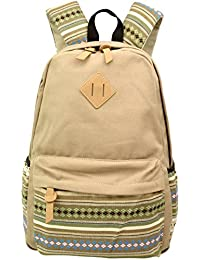 Aeoss Backpack Girls Women Bohemian Aztec Tribal Print Bag