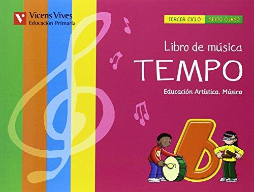 El libro de música tempo 6 andalucía libro (+cd)