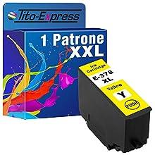 Tito-Express Platinum Series 1 Cartuccia d'inchiostro XXL Yellow compatibile con Epson T3794 378XL 378 XL | Per Expression Photo XP15000 XP8000 XP8005 XP8500 XP8505 XP8600 XP8605 | Colore 13ml