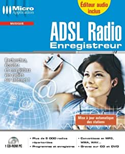 ADSL Radio Enregistreur