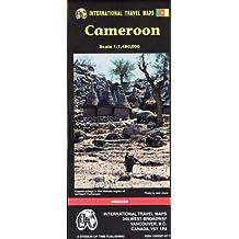 Carte routière : Cameroun - Cameroon (en anglais)