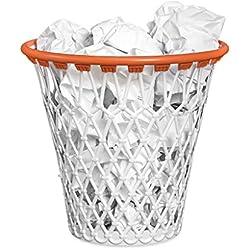 Balvi-Poubelle Panier de basketAvec Design Comique en Forme de Panier de Basket.Couleur: Blanc.Très résistant, fabriqué en Plastique ABS.