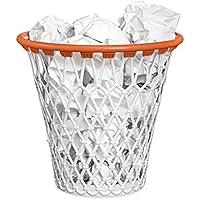Balvi-Basketpapelera.Condiseñodivertidodecanastadebaloncesto.Colorblanco.Fabricadoenplásticomuyresistente.