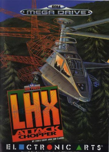 LHX Attack Chopper (Mega Drive) gebr.