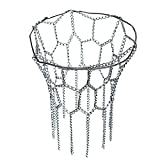 Calli Basketball Net Sports Hoop Metall Kette Fit OFFIZIELLER Felgen 12 Loop Stahl