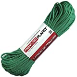 Paracord Planet® paracord is authentic commerical paracord made in the USA. With a 550-lb line strength,7 inner nylon cores, and UV, rot, and mildew resistance, this parachute cord is great for camping, hiking, survival, and much more. Choose from ou...