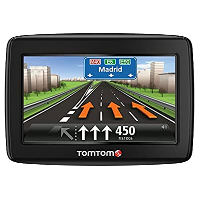 """TomTom Start 25 EU 23 LTM - Navegador GPS para coches (pantalla de 5""""), mapas Europa Occidental, color negro"""
