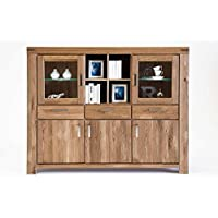 suchergebnis auf f r highboard wildeiche massiv geoelt k che haushalt wohnen. Black Bedroom Furniture Sets. Home Design Ideas