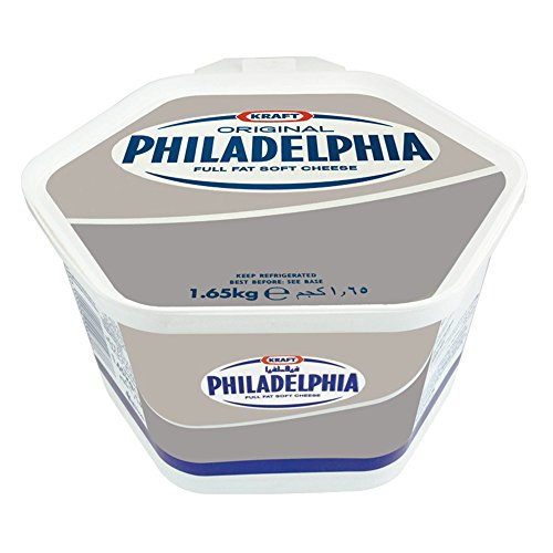 Philadelphia Original Soft Cheese Catering Tub - 1x1.65kg