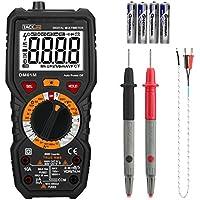 tacklife dm01m multímetro digital multi Tester con no contacto temperatura de detección de voltaje, Live Line, pitido prueba de continuidad con iluminación