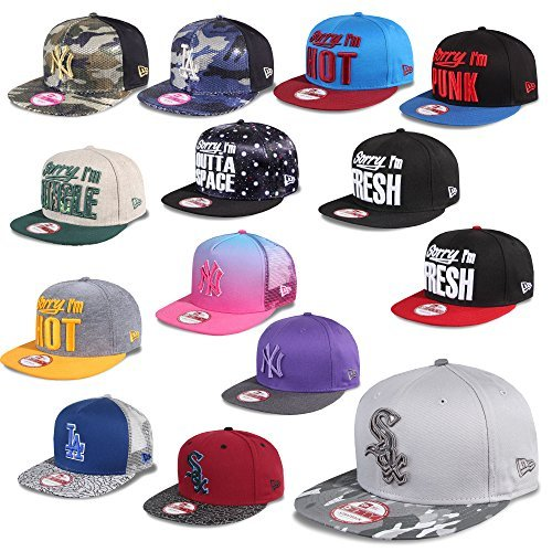 New Era Cap 9Fifty Casquette Snapback New York Yankees Dodgers De Los Angeles Sox Giants Lifestyle