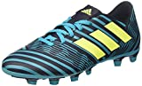 adidas Nemeziz 74 FxG, Scarpe da Calcio Uomo, Multicolore (Legend Ink/Solar Yellow/Energy Blue), 44 EU