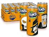 Fanta Orange/Super frische Limonade mit Orangengeschmack und Spaß-Garantie in coolen Dosen / 24 x 330 ml Dose